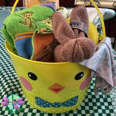 What's in your Easter Basket?? NORWEX and no candy it's a candy free eco friendly Easter Basket!