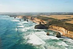 Views along the Great Ocean Road in Victoria, Australia, include the Twelve Apostles, part of Port C... - Photo: Getty Images/Mary Myla Andamon