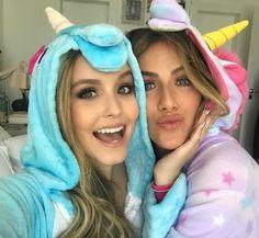 larissa Manuela com o pijama de unicórnio