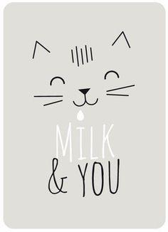 print & pattern: NEW ARRIVALS - zü shop Cat face outlines #CatIllustration