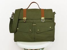 Dark Olive Green Messenger Bags/Handbags/Bags&Purses/School Bags/Bags/Backpacks/Shoulder Bags/Travel bags For everybody. You can bring everywhere you go. Comfortable to use, especially for travelling , school, beach, etc. Absolutely, you can take anything you want. Inside has 1 zip pockets and 2 pockets to keep your wallet, phone or your important things to safety. In front the bag has 2 pocket to keep anythings you want back side of the bag also has zip-pocket and small pocket each side to…