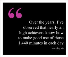 Mary Kay Ash Quote about High Achievers #quotes #work #success