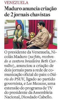 #BethCarvalho 2014 O Estado de SP