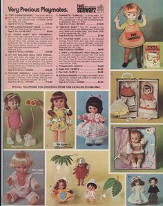 fao schwarz #toy #catalogue #1974 #dolls