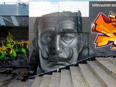 Graffiti at the Guadalquivir riverside, Sevilla, Spain by jacobssalon.