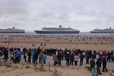 Three Queens Liverpool ECHO readers pictures of the Three Queens 3 Queens Liverpool Liverpool Waterfront, Liverpool Town, Liverpool History, American Cruise Lines, Cunard Ships, Crosby Beach, Carnival Corporation, Merchant Navy, Southampton
