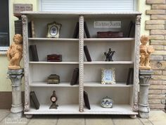www.richterantik.hu Provence furniture, cabinet, bookcase