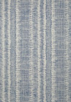 DANUBE IKAT, Navy, T88736, Collection Trade Routes from Thibaut
