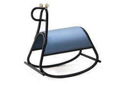 Furia Gebrüder Thonet Vienna Rocking horse Furia designed by FRONT for Gebrüder Thonet Vienna is a beautiful rocking horse with bent beechwood frame. Standard collection finishes and colours. Traditional Toys, Modern Toys, Shops, Swedish Design, Blue Accents, Luxury Home Decor, Rocking Chair, Vienna, Kids Room