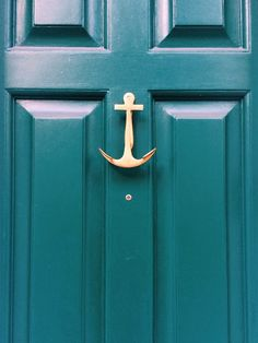 anchor door knocker.