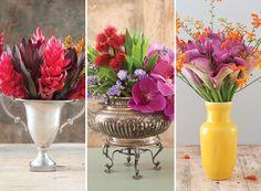 Três arranjos de flores para fazer em casa