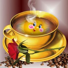 """""""A Special Cup of Coffee just for You Today."""""""