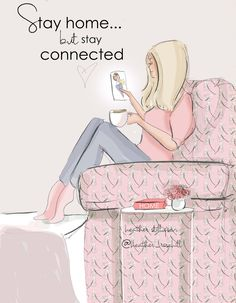 Happy Monday Quotes Discover Stay Home But Stay Connected- Heather Stillufsen Cards Heather Stillufsen art Stay Home But Stay Connected Heather Stillufsen Cards Heather Happy Monday Quotes, Sunday Quotes, Thursday Quotes, Good Morning Quotes, Morning Images, Quotes Arabic, Positive Quotes For Women, Strong Quotes, Image Citation