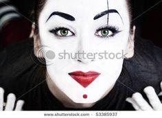 @Lindsey Larsen and another mime makeup inspiration.