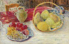 Pierre Bonnard - Nature morte aux fruits dans le soleil circa 1931