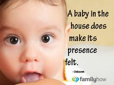 A #baby in the House...