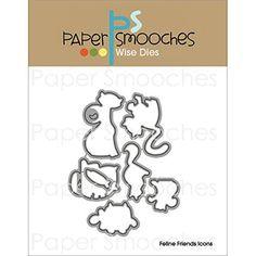 Paper Smooches - Dies - Feline Friends Icons
