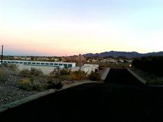 Arizona on the road highway 95 lake havasu dec 2015