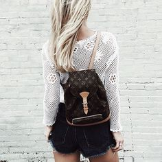Backpacks aren't just for school anymore!