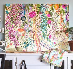 Sweet Dreams [Art Print] Flowering vines acrylic on canvas fine art painting. Dreams of the south. Art Floral, Original Art, Original Paintings, Art Paintings, Painting Art, House Painting, Metal Tree Wall Art, Dream Art, Love Art