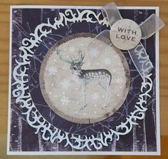 Frozen Forest by Craftwork Cards. Made by Jane Compton