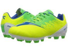 Diadora Kids - DD-NA4 R JR (Little Kid/Big Kid) (Yellow Flourescent/Green) Kids Shoes