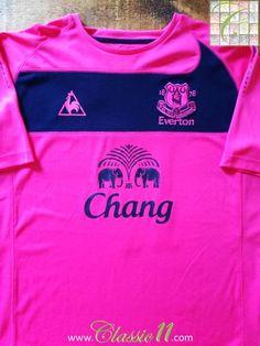 2010/11 Everton Away Premier League Football Shirt Cahill #17 (XL)