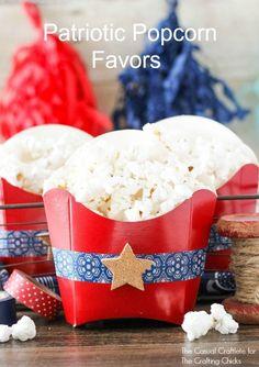 Patriotic Popcorn Fa