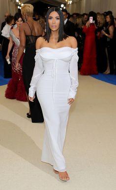 Kim Kardashian in Vivienne Westwood at the 2017 Met Gala