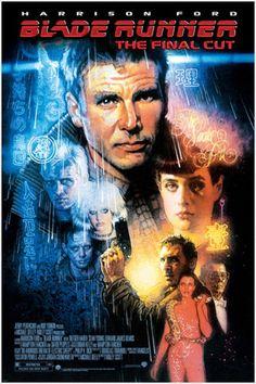 Ridley Scott Blade Runner [The Final Cut] Harrison Ford, Daryl Hannah, Ridley Scott Blade Runner, Blade Runner Poster, Sci Fi Films, 80s Sci Fi, Cyberpunk Art, Film Posters, Ryan Gosling