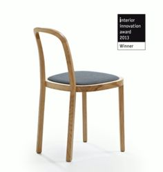 Woodnotes Siro+, oak wooden chair.