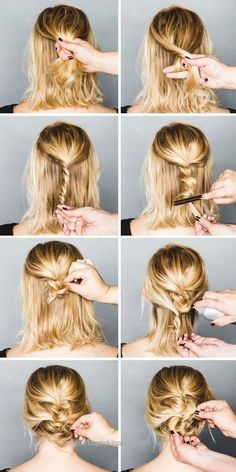 Unbelievable Messy Updo | Easy Formal Hairstyles For Short Hair | Hairstyle Tutorials – Gorge… Messy Updo | Easy Formal Hairstyles For Short Hair | Hairstyle Tutorials – Gorgeous ..