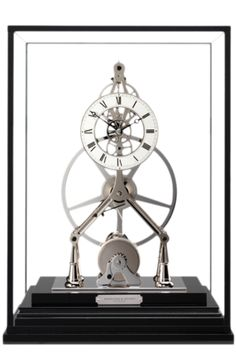 Hamilton & Inches Great Wheel mantle clock