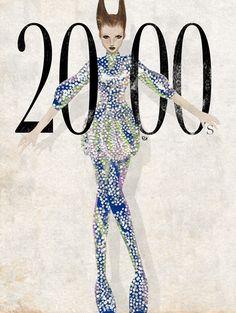 "Illustration 00s The Individualist"", Alexander McQueen 2000"