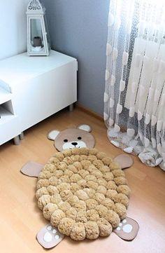 Les enfants chambre tapis tapis de Pom Pom par PomPomMyWorld