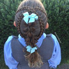 Cute style for school today, Crossed over Dutch braids and our #3strandpullthroughbraid  Inspired by @sheerbraidedbliss and @winterhair   #cghphotofeature #industriebeauty #melbournehairstylist #melbournehairdresser #braid #braids #hairinspiration #cutegirlshairstyles #instabraid #instahair #modernsalon #hairdressermagic #pretty #dutchbraid #artistssupportingartists #braidingmommies #dutchbraid #behindthechair #americansalon #peinados #3strandpullthroughhbraid