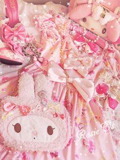 Hime gyaru fashion/style