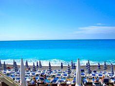 Nice Côte d'Azur, France.