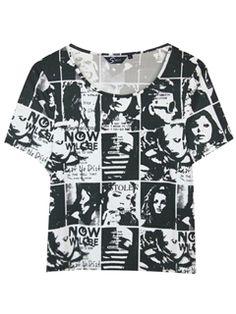 Character Photo Print T-shirt