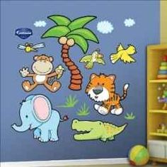 Decorating a new baby's room is so much easier when you work with nursery wall decals. Pick a theme, like baby jungle animals, then pick your...