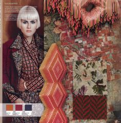 Elements - Colors and Material Trend - A/W 2014/2015.  same tone family.  good w/pale skin and hair gives contrast