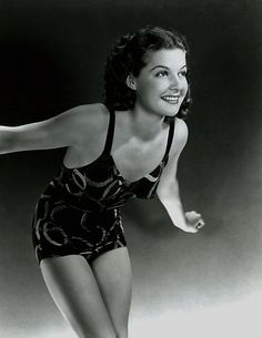 Ann Sheridan - Swimsuits on Pinterest | Fans, Album and Headscarves
