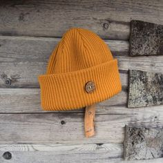 Merino Wool Beanie - VAI-KO Timberjack. Made in Finland. Ethical and Ecological.