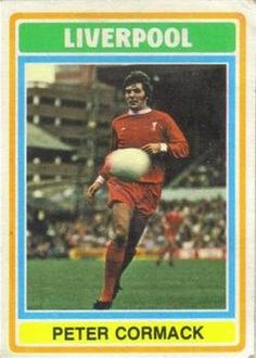 Peter Cormack of Liverpool in Soccer Cards, Football Cards, Football Players, Baseball Cards, Ynwa Liverpool, Liverpool Football Club, This Is Anfield, Collector Cards, Trading Card Database