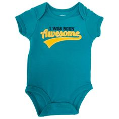 Awesome Onesie by Carter's #Babies #Onesie