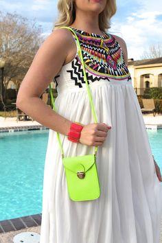 Coachella Crossbody - Lime