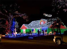 These lights are just saturated . . . what's the electric bill I wonder . . .