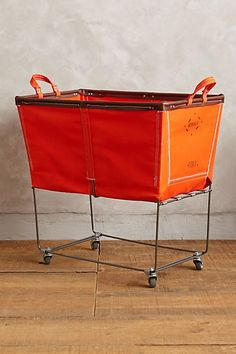 large mobile canvas bin #anthroregistry #gift
