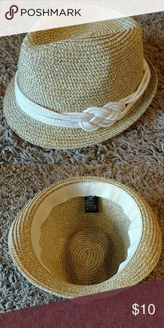 Nautical Fedora Super cute addition to any outfit! NEVER WORN. D&Y Accessories Hats