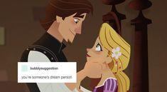 Eugene Tangled, Rapunzel And Eugene, Mermaid Disney, Disney Rapunzel, Disney And Dreamworks, Disney Pixar, Tangled Funny, Kiss Face, Tangled Series